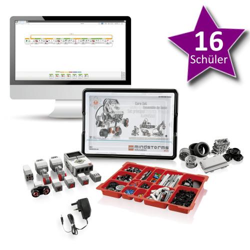 LEGO Mindstorms Education EV3 Komplettpaket Basis Set für 16