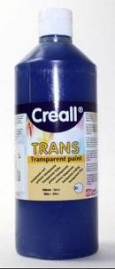 Transparentfarbe Creall-trans 500 ml blau