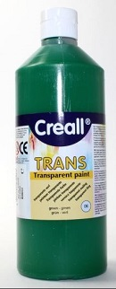 Transparentfarbe Creall-trans 500 ml grün