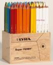 LYRA Super FERBY Holzaufsteller 96 Buntstiften lackiert