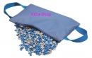 TheraBeans Bag blau mit 2,5 kg TheraBeans