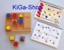 LoGeo - didaktisches Holzspiel Denkschule - Lernspiel