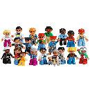 Lego Duplo Menschen aus der Nachbarschaft, Leute und Berufe Set