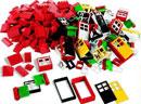 LEGO Education Türen, Fenster und Dachsteine # 9386