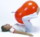 Sens`o`Roll 55 cm, orange mit Noppen