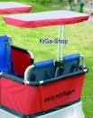 Winther Sonnenschutz für 2 Sitzplätze für Turtle Bus