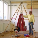 Holz-Hoerz Pyramido Holzklappständer Set