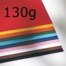 Sortiment Tonpapier 130g 100 Bogen in 10 Farben sortiert