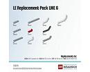 LEGO® Education MINDSTORMS EV3 Ersatzteilset 6 (Querstreben und Verbindungen)