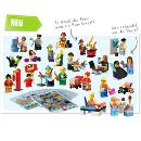 LEGO Minifiguren Set Gemeinschaft